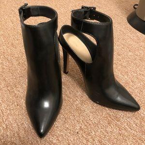 Zara faux leather heels size 6